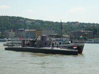 TIT HMHE: A Leitha monitor megérkezése Budapestre 1.