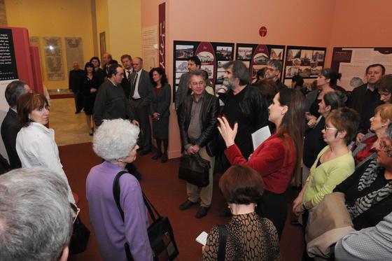 Országos Széchényi Könyvtár: Krleža-kiállítás