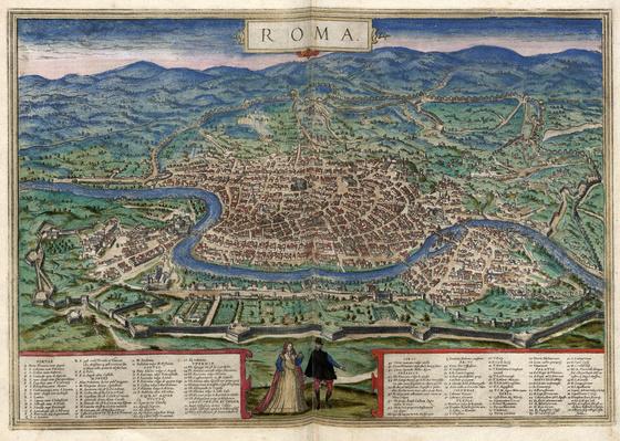 Országos Széchényi Könyvtár: Róma (Roma) a XVI–XVII. század fordulóján