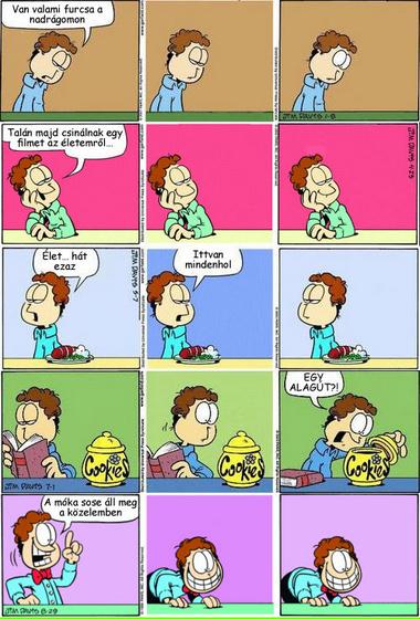 Valentino: Garfield Garfield nélkül