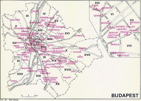 budapest irányítószám térkép Térképek: Nosztalgia budapest irányítószám térkép
