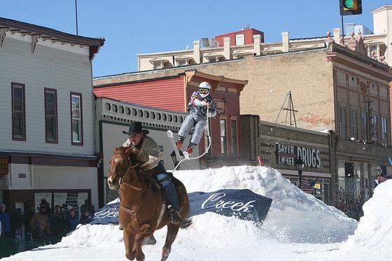 Leadville Ski Joring by Kaila Angello