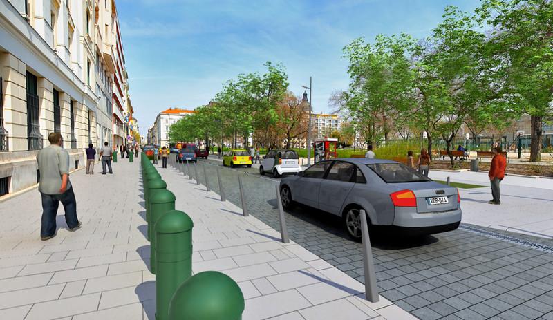 A Belváros új főutcája