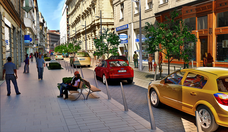 A Belváros új főutcája2