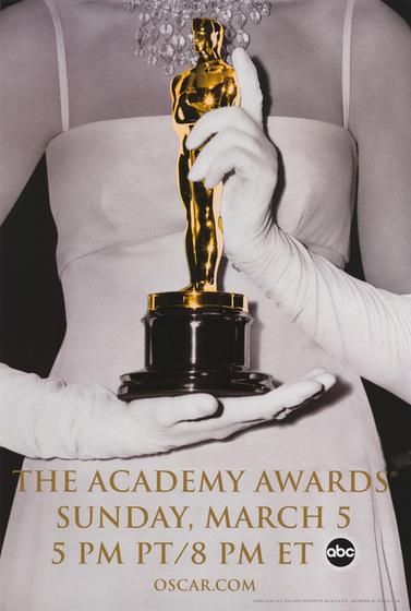 A 2006-os Oscar-gála plakátja (női verzió)