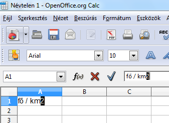 infoerettsegi: felső index openoffice.org calc 1.PNG