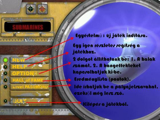 PJ (Gamecsászár Team): A főmenü