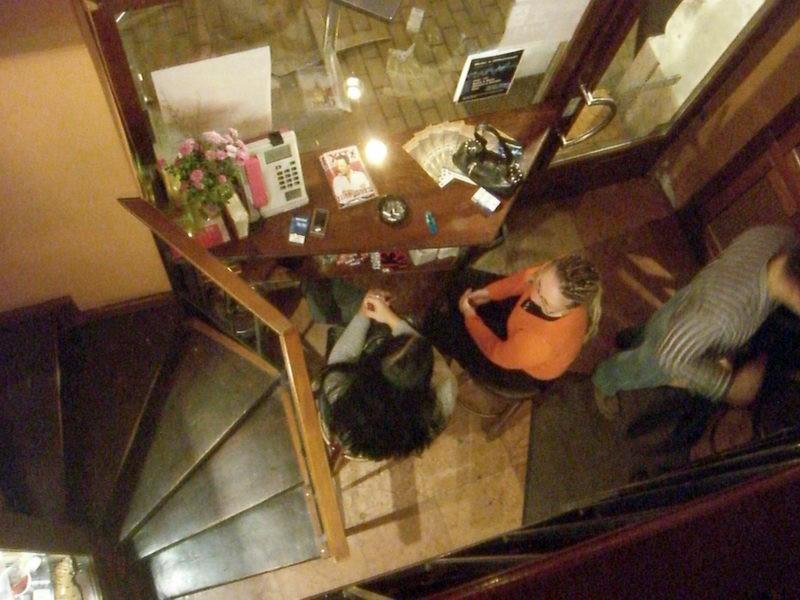 Emeletről a látvány