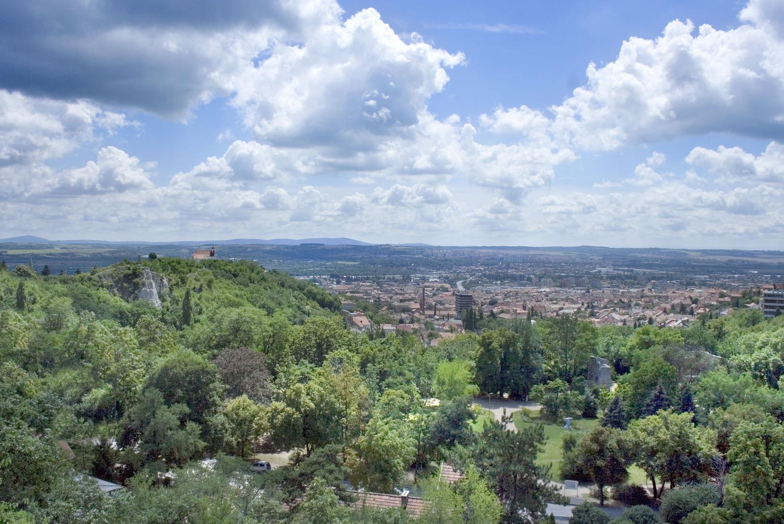 Pécs - Havi-hegy tettyei panoráma