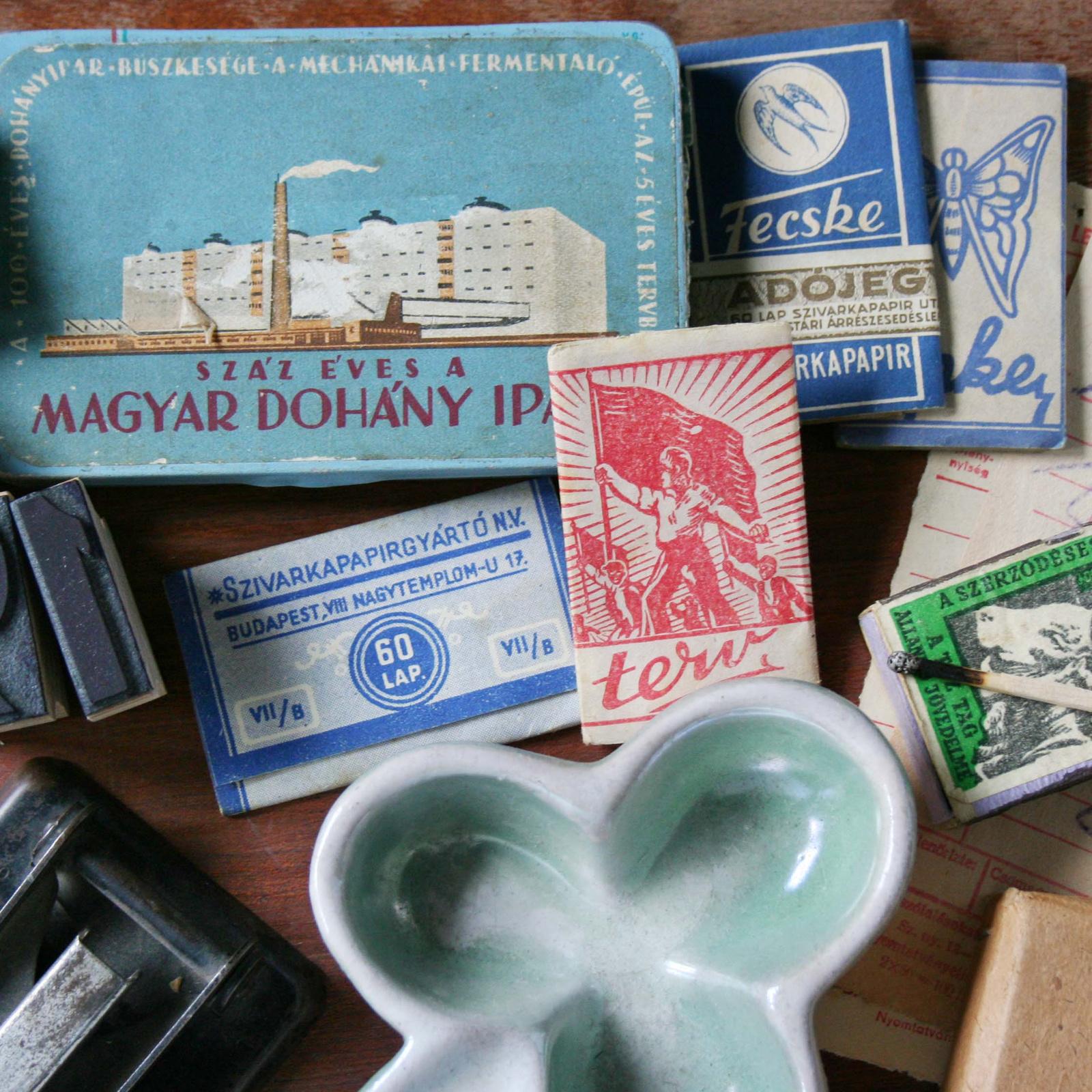 cigaretta szünet 1950-ben