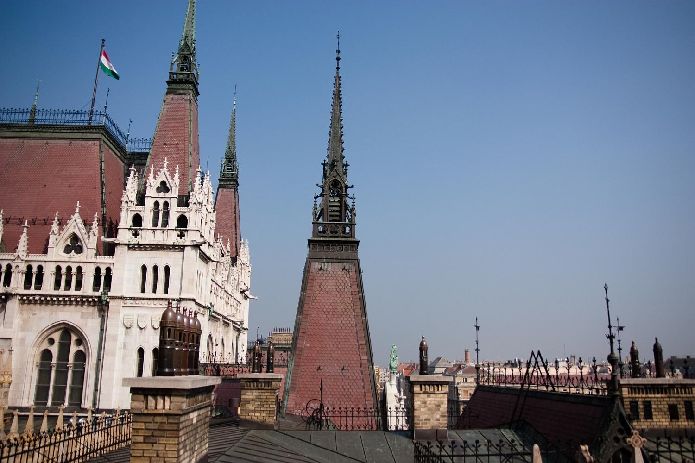 Első fotó a tetőn