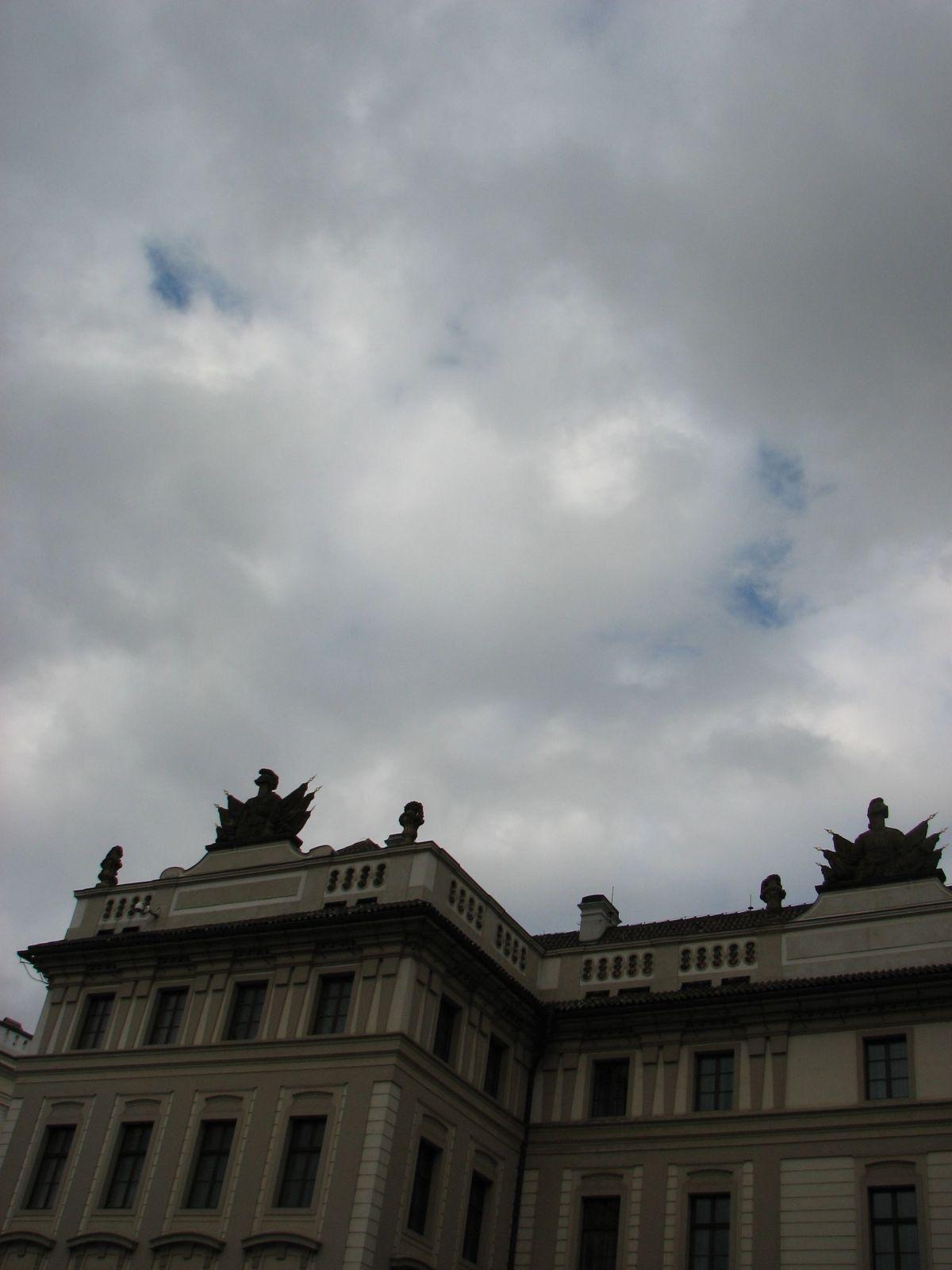 Prágai vár épülete