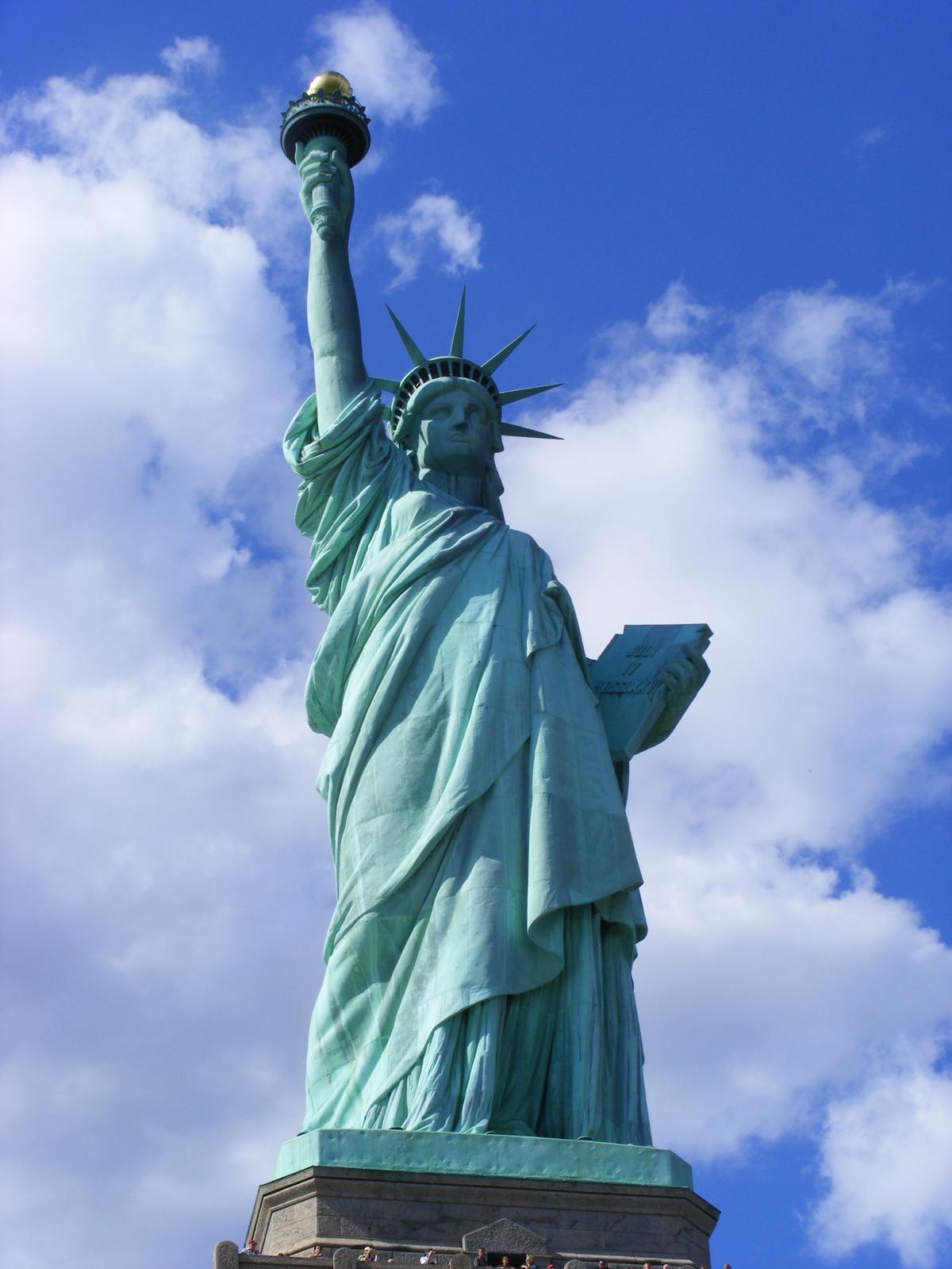 Szabadság szobor (Statue of Liberty), New York City, New ...