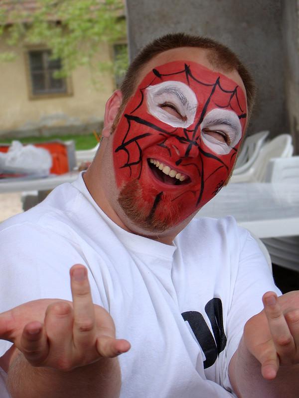 Zsolti a Spiderman:)