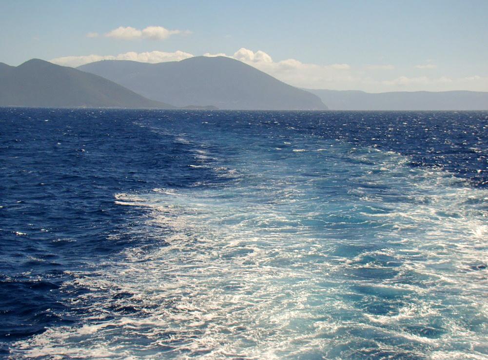 Itt láttuk a delfineket