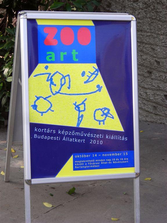 ZOO Art plakát-nyitva nonember 15-ig